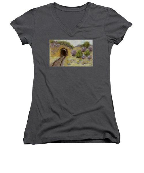 Abandoned Mine Women's V-Neck T-Shirt