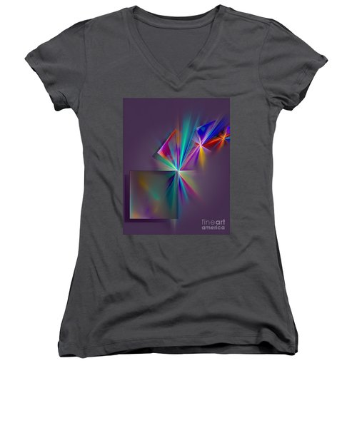 Abs 0578 Women's V-Neck (Athletic Fit)