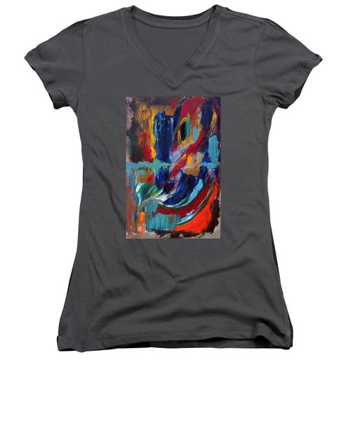 Abstract 1 Women's V-Neck