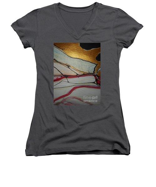 Abstract-12 Women's V-Neck