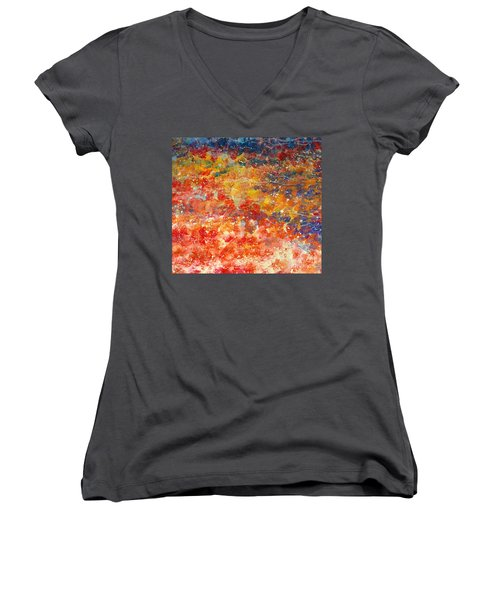 Abstract 2. Women's V-Neck (Athletic Fit)