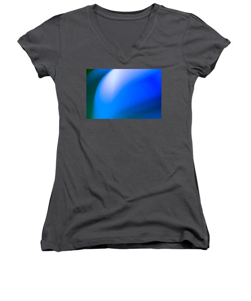 Abstract No. 7 Women's V-Neck