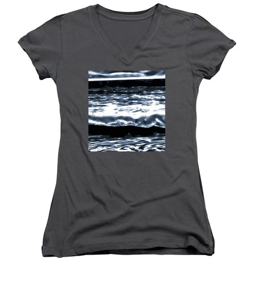 Abstract Ocean Women's V-Neck