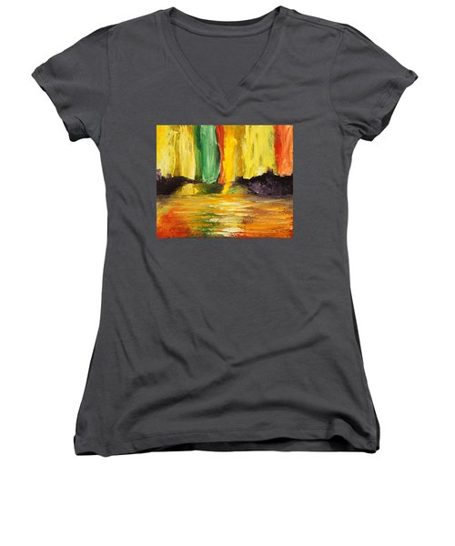 Abundance Women's V-Neck T-Shirt