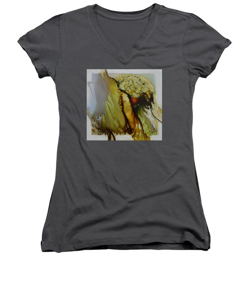 Abstract X Women's V-Neck T-Shirt