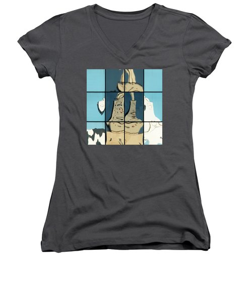 Abstritecture 17 Women's V-Neck
