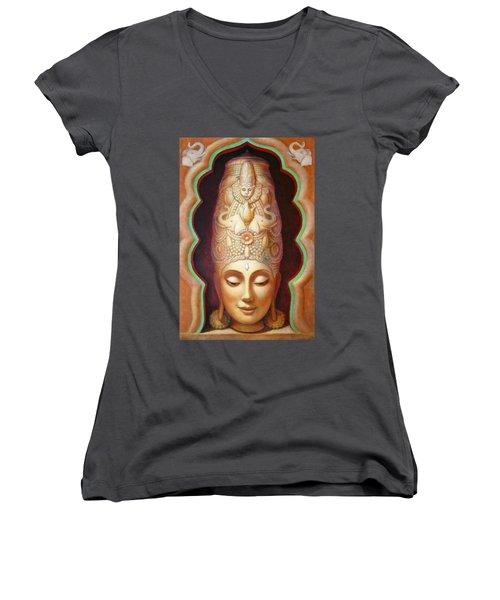 Abundance Meditation Women's V-Neck