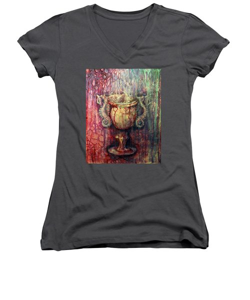Ace Of Cups Women's V-Neck