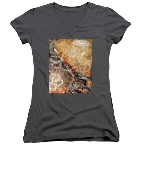 Ace Of Wands Women's V-Neck
