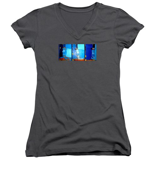 Adriatic  Women's V-Neck T-Shirt