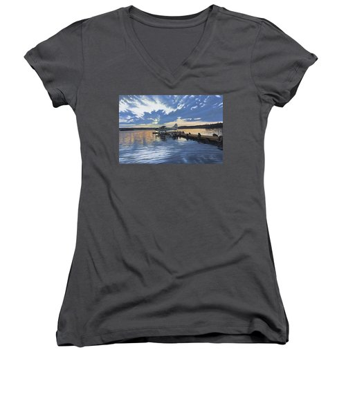Adventure Awaits Women's V-Neck
