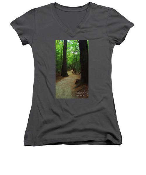 Adventures Women's V-Neck (Athletic Fit)