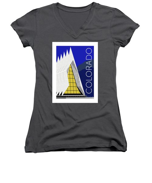 Colorado Afa Chapel Women's V-Neck (Athletic Fit)
