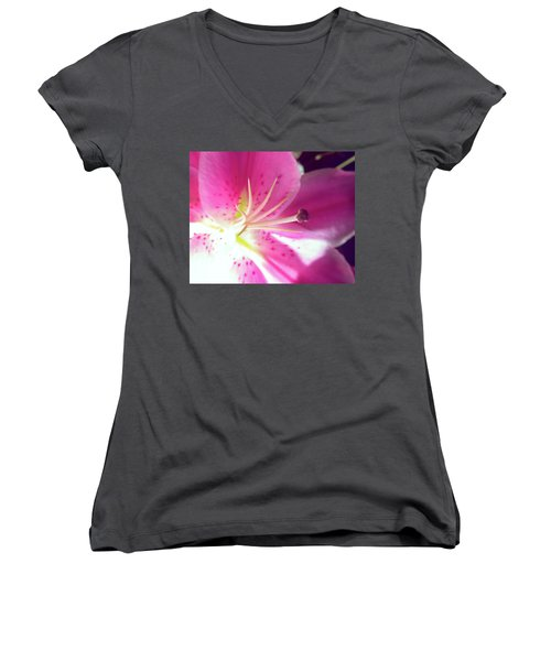 Aflame Women's V-Neck