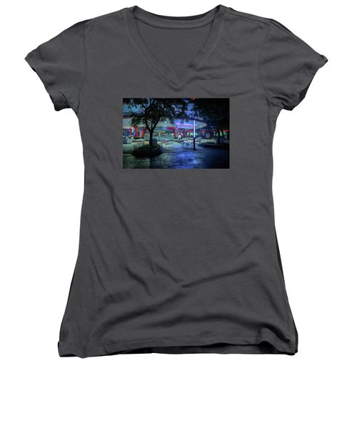 After Hours Women's V-Neck T-Shirt