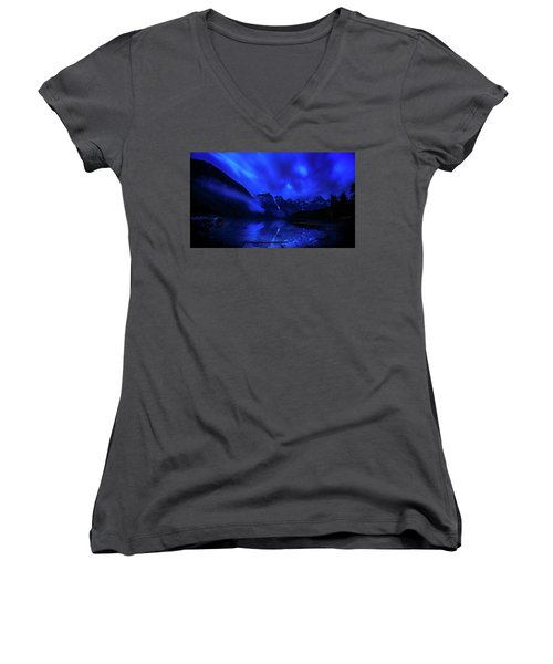 After Midnight Women's V-Neck