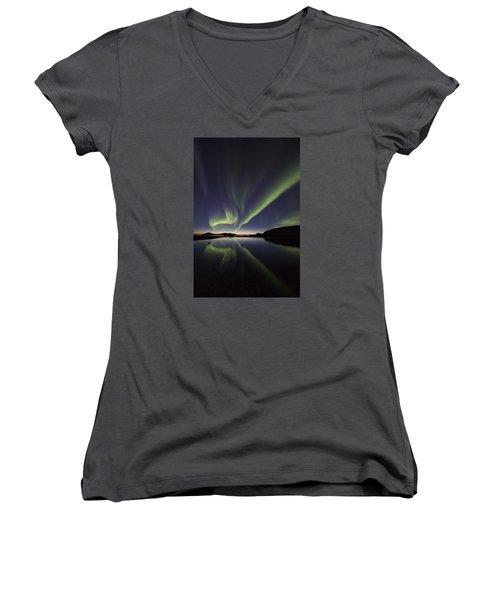 After Sunset I Women's V-Neck T-Shirt
