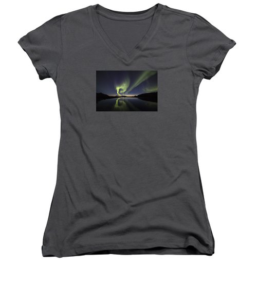 After Sunset II Women's V-Neck (Athletic Fit)