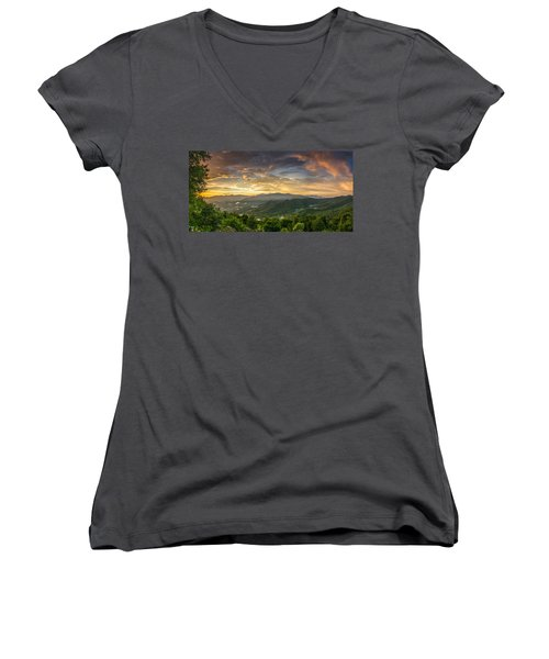 After The Rain Women's V-Neck