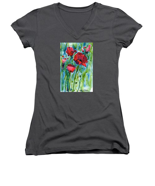 After The Rain Women's V-Neck (Athletic Fit)