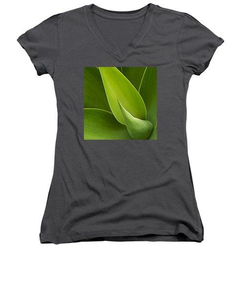 Agave Women's V-Neck T-Shirt
