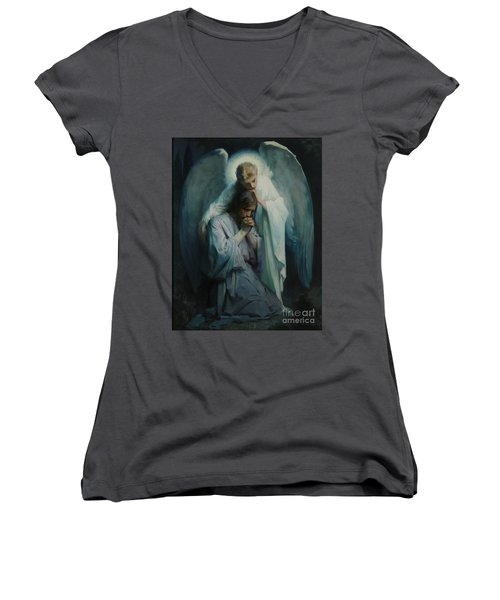 Agony In The Garden  Women's V-Neck