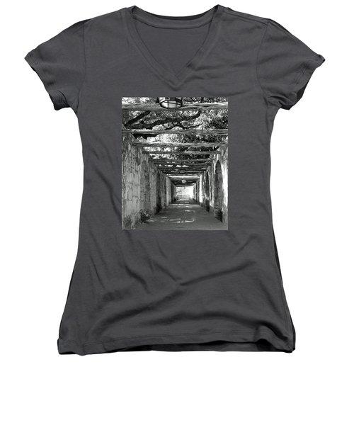 Alamo Corridor Women's V-Neck T-Shirt