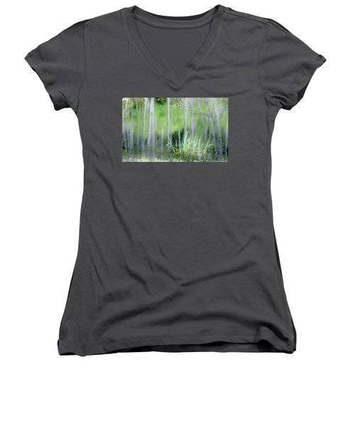 Alder Reflections Women's V-Neck T-Shirt