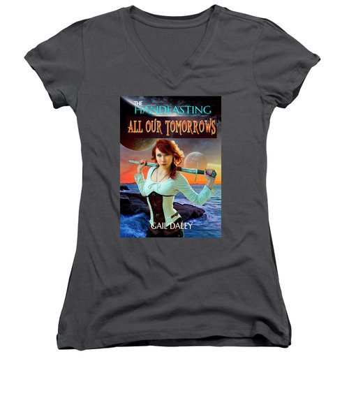 All Our Tomorrows Women's V-Neck T-Shirt (Junior Cut)