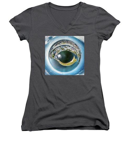 All Seeing Eye Women's V-Neck