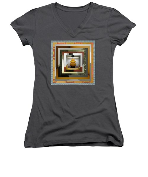 Alladin's Lamp Women's V-Neck T-Shirt