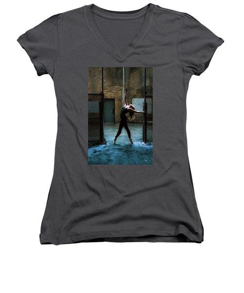 Alley Dance Women's V-Neck (Athletic Fit)