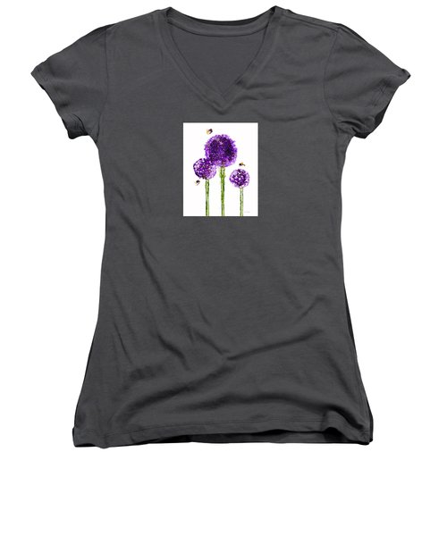 Alliums Humming Women's V-Neck