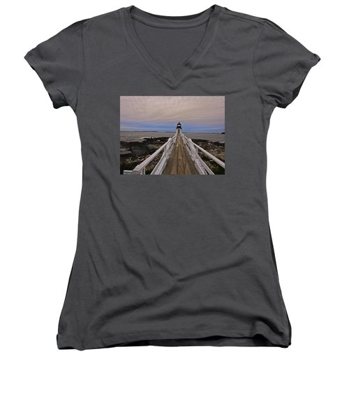 Along The Boardwalk Women's V-Neck