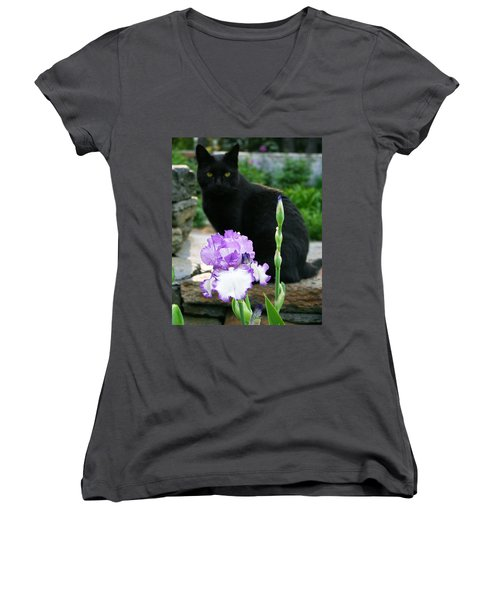 Always There Women's V-Neck