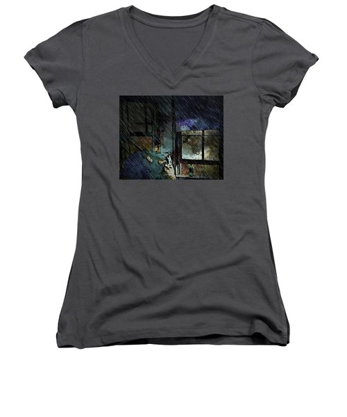 Ambivalence Women's V-Neck