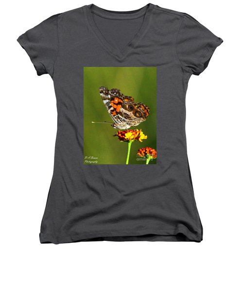 American Painted Lady Women's V-Neck