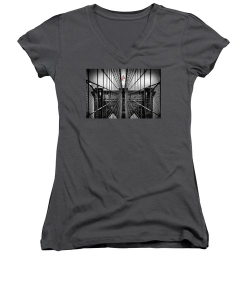 American Patriot Women's V-Neck T-Shirt