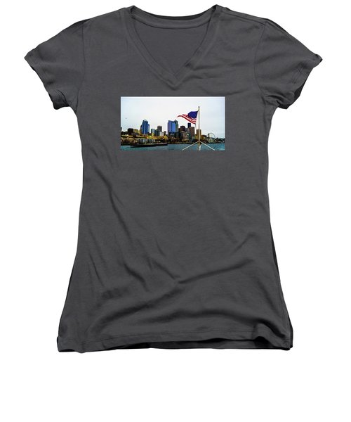 American Seattle Ic Women's V-Neck (Athletic Fit)