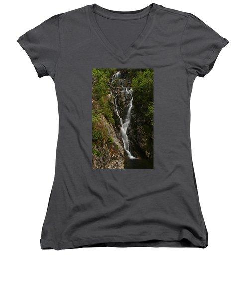 Ammonoosuc Ravine Falls Women's V-Neck