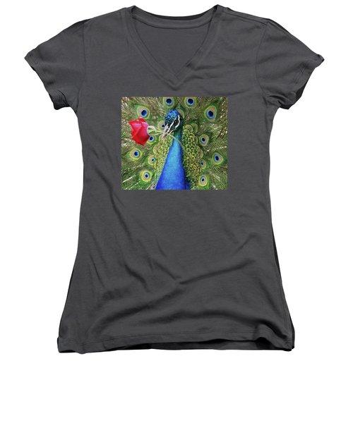 Amore Women's V-Neck T-Shirt