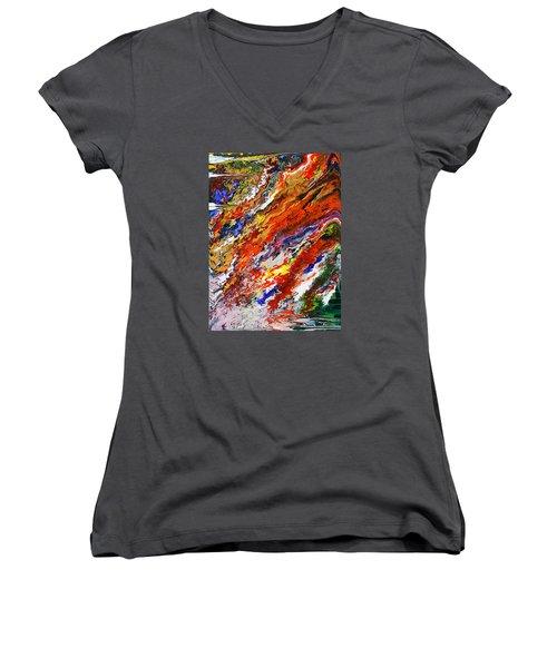 Amplify Women's V-Neck T-Shirt (Junior Cut) by Ralph White