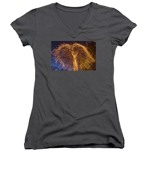 An Extrinsic Element  Women's V-Neck T-Shirt