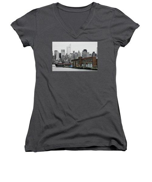 Anable Basin Women's V-Neck T-Shirt
