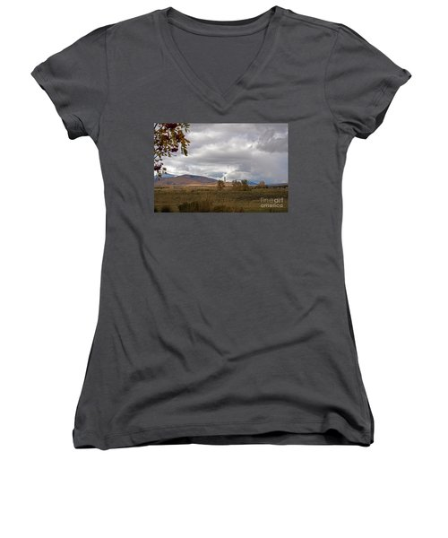 Anaconda Smelter Stack Women's V-Neck T-Shirt (Junior Cut) by Cindy Murphy - NightVisions