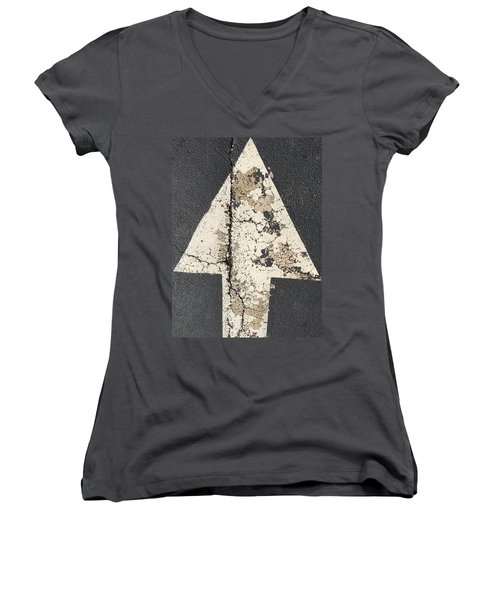 Ancient Arrow Women's V-Neck (Athletic Fit)