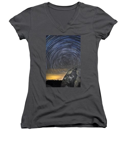 Ancient Art - Counting Sheep Women's V-Neck