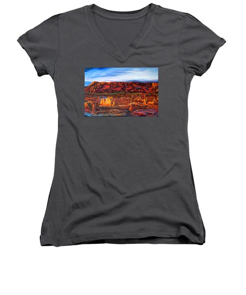 Ancient City Women's V-Neck T-Shirt