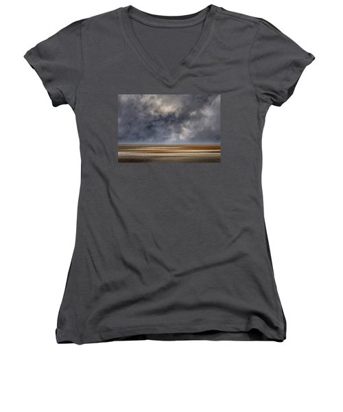 And The Rains Came Women's V-Neck