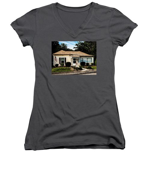 Andy's House Women's V-Neck (Athletic Fit)